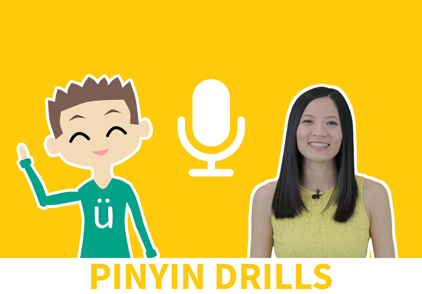 Learn Chinese Pinyin pronunciation with ChineseFor.Us. Get 13 Mandarin Pinyin lessons & 270 listening questions - the best Chinese Pinyin Course there is!