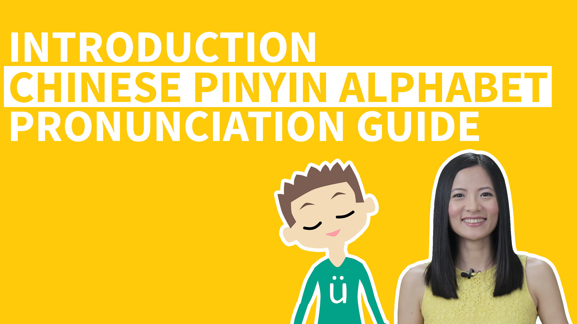 Chinese Pronunciation Guide for Beginners - Pinyin