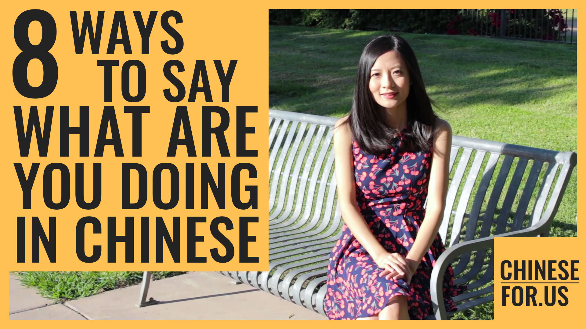 8 Ways How To Say What Are You Doing In Chinese Chinesefor
