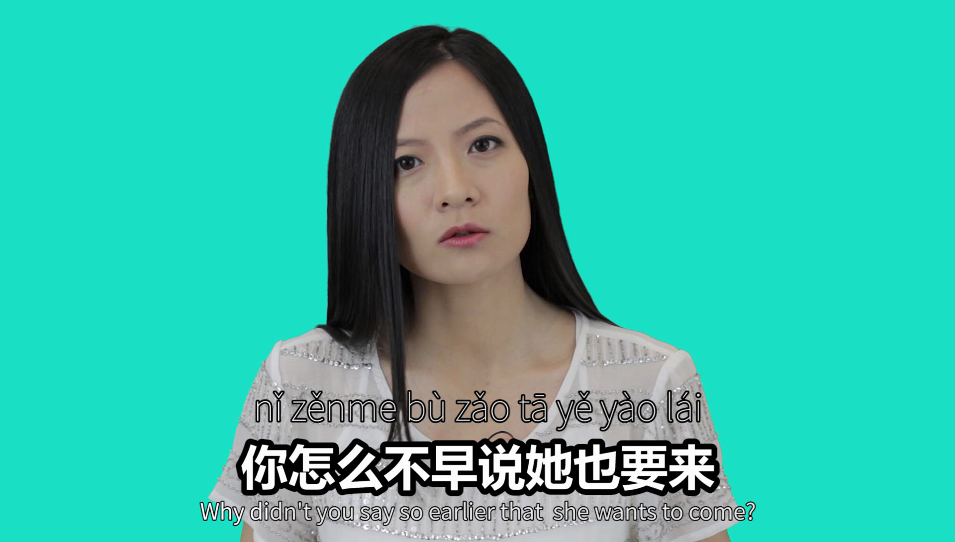 How do you say why didn't you say so earlier in Chinese? In this Chinese video lesson you'll learn 3 situations where you can use this Chinese expression.