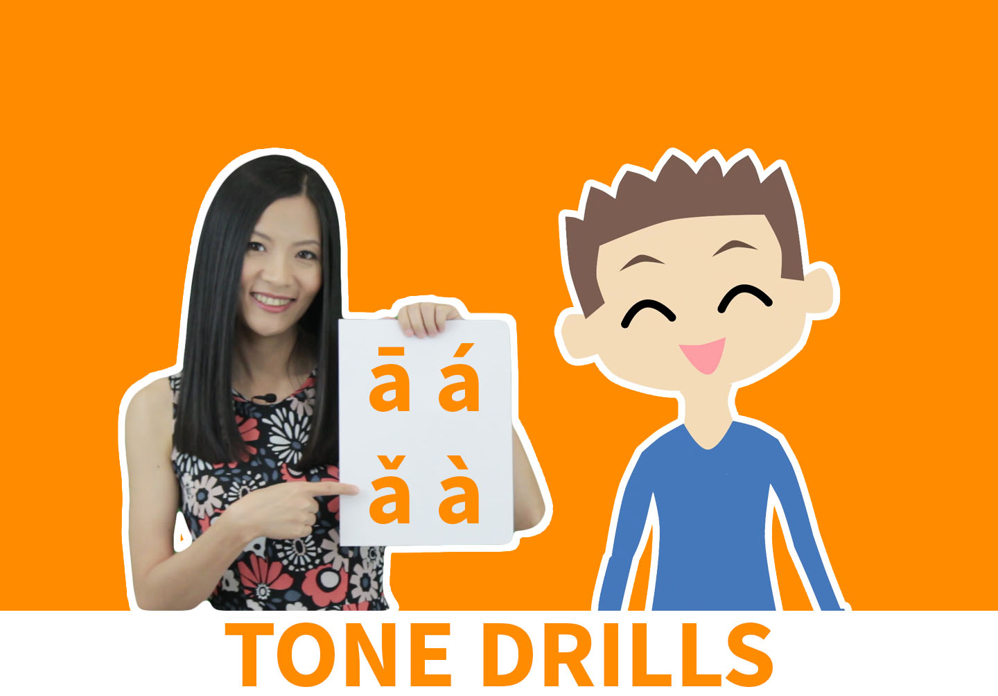 Learn Chinese Tones with ChineseFor.Us Hanyu Pinyin Tone Course. Get 16 video lessons and 150 listening questions - the best Chinese Tone help there is!