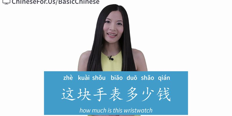Lesson 19.1: Be able to ask and answer price in Chinese. Learn to ask how much in Chinese and tell money in Chinese with video, audio, grammar and quizzes!